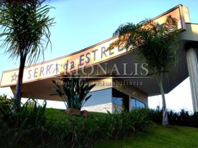 Terreno residencial à venda, Condomínio Serra da Estrela, Atibaia.
