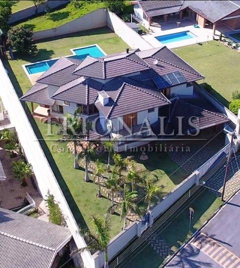 Casa residencial à venda, Condomínio Flamboyant, Atibaia - CA2016.