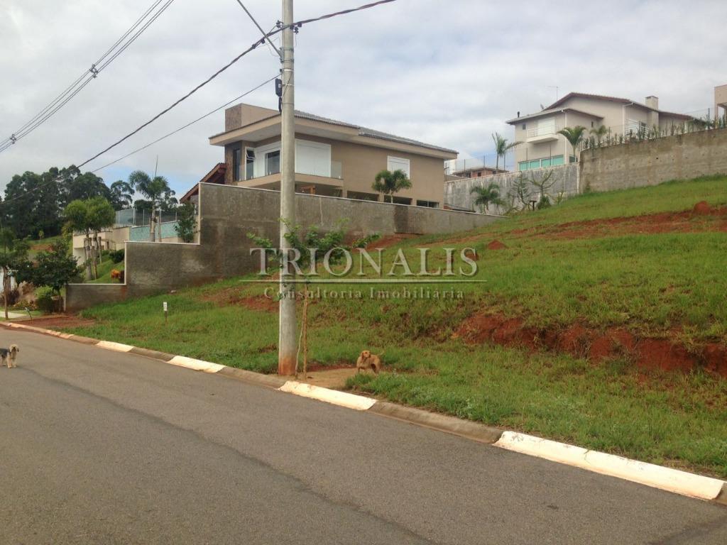 Terreno residencial à venda, Condomínio Shambala III, Atibaia - TE1260.