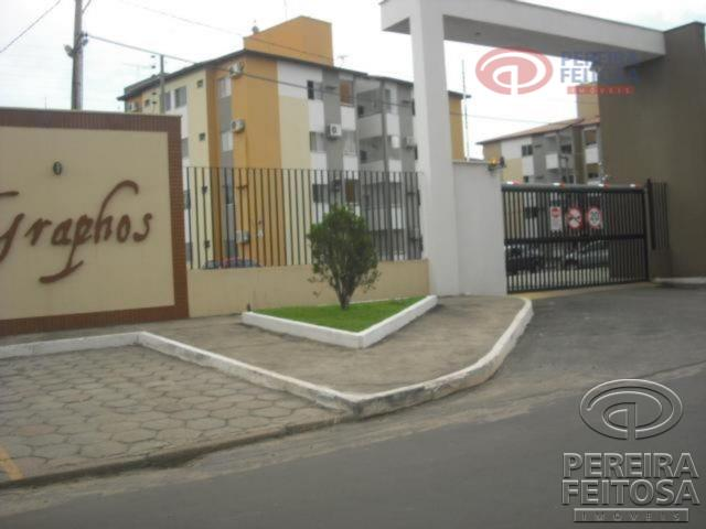 Apartamento residencial para locação, Cohama, São Luís - AP0713.