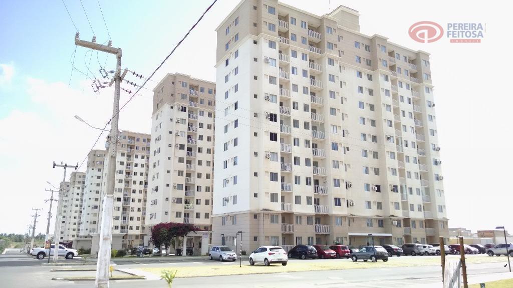 Apartamento residencial à venda, Loteamento Farol Araçagi, Raposa - AP1617.