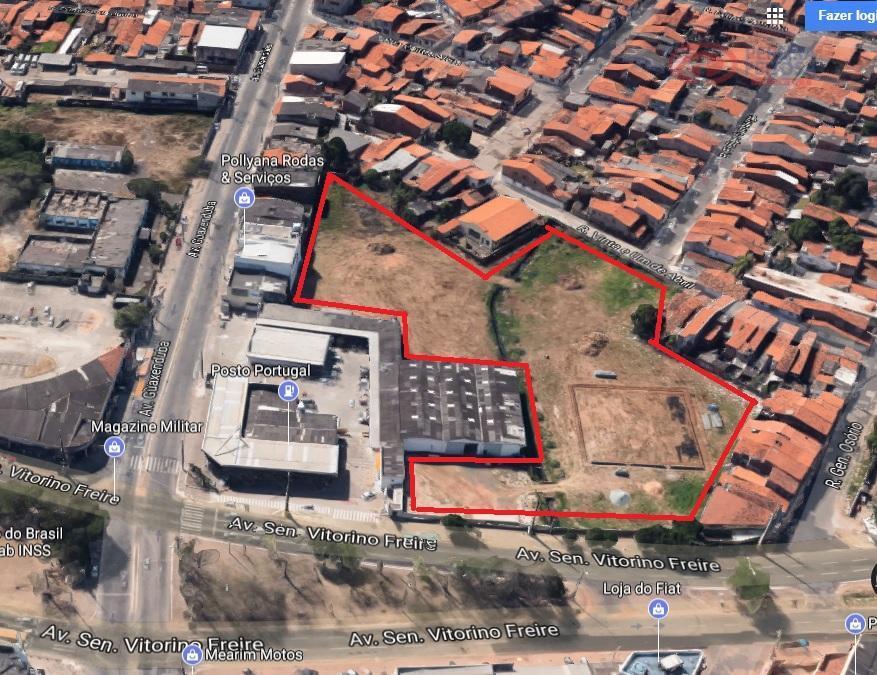 galpão com 900 m² com dois banheiros, três salas administrativas, área para manobra e ampla área...