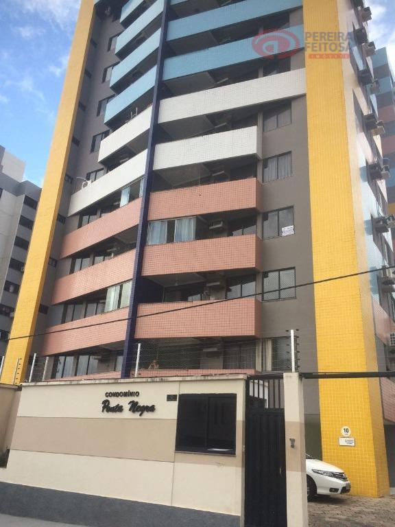 Apartamento com 3 dormitórios para alugar, 90 m² por R$ 1.850/mês - Jardim Renascença - São Luís/MA