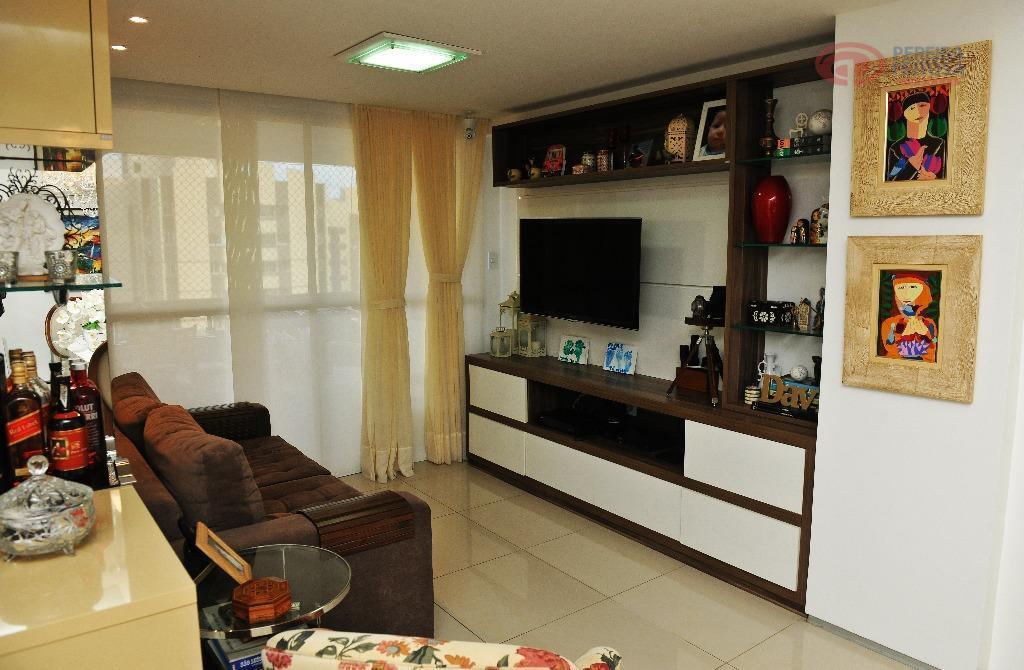 luxuoso apartamento, em um dos melhores bairros da cidade.apartamento com 116 m² nascente, composto de sala...