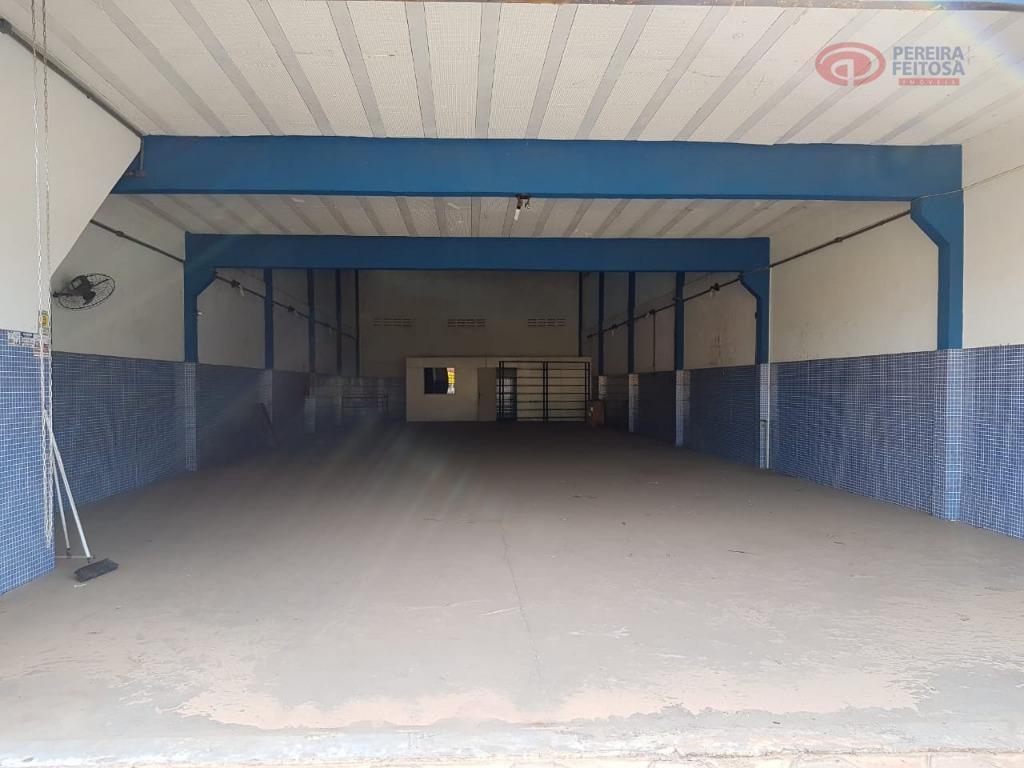 galpão localizado na estrada de são josé de ribamar, com pavimento térreo e subsolo e composto...