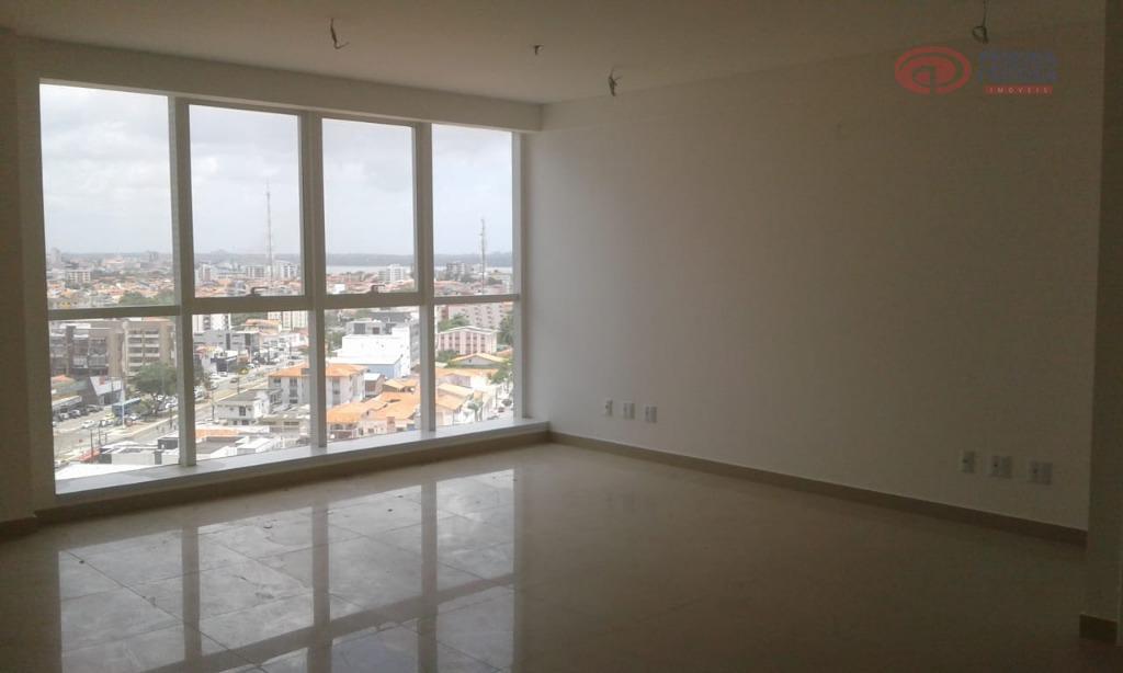 sala com 40 m² 100% porcelanato e um banheiro.o projeto ocupa uma região privilegiada, apresentando um...