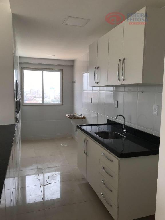 Apartamento com 2 dormitórios para alugar, 65 m² por R$ 2.000/mês - Olho D Água - São Luís/MA
