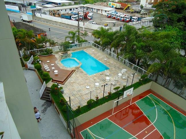 Apartamento residencial à venda, Vila Júlia, Guarujá.