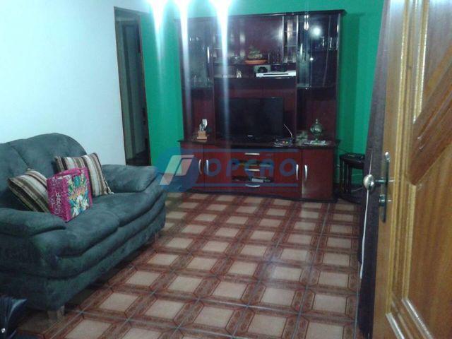 aparecida - bnh, 1 º andar,  3 dormitórios, armários, sala , cozinha,área de serviço.