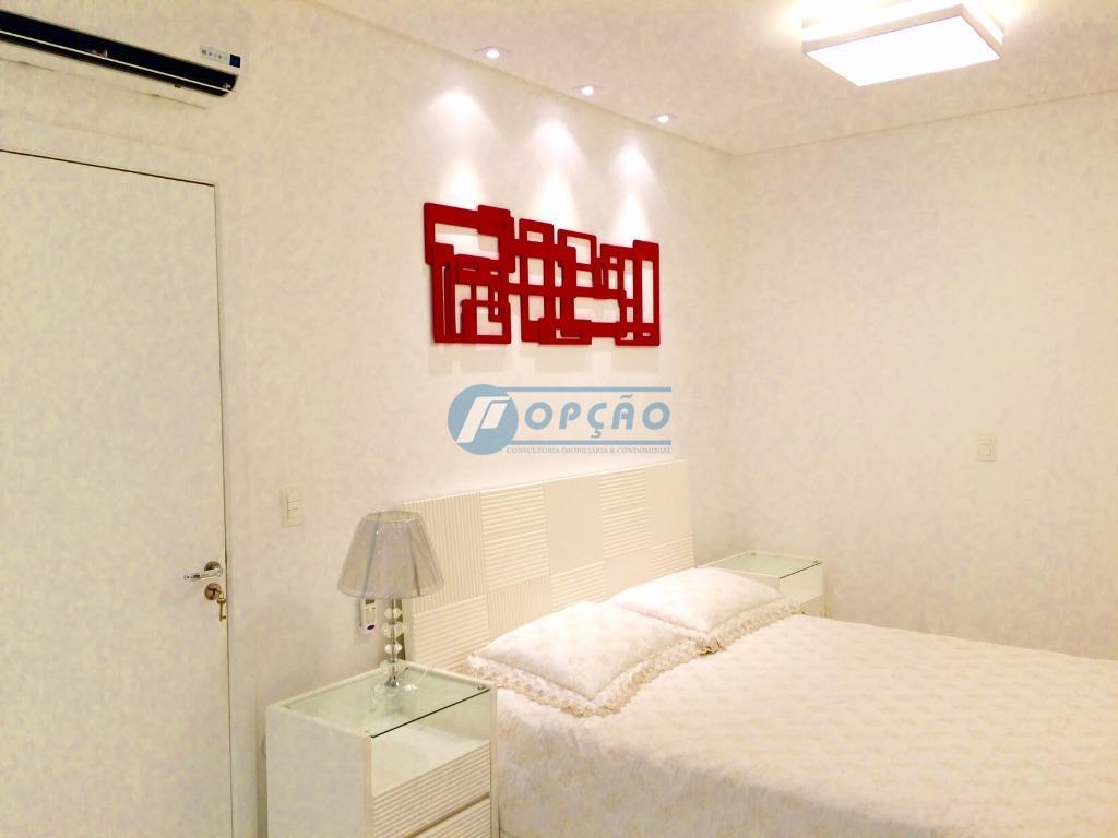 gonzaga - santos, porteira fechada, finamente decorado, vista livre, 2 dormitórios, 1 suíte, armários planejados, sala...