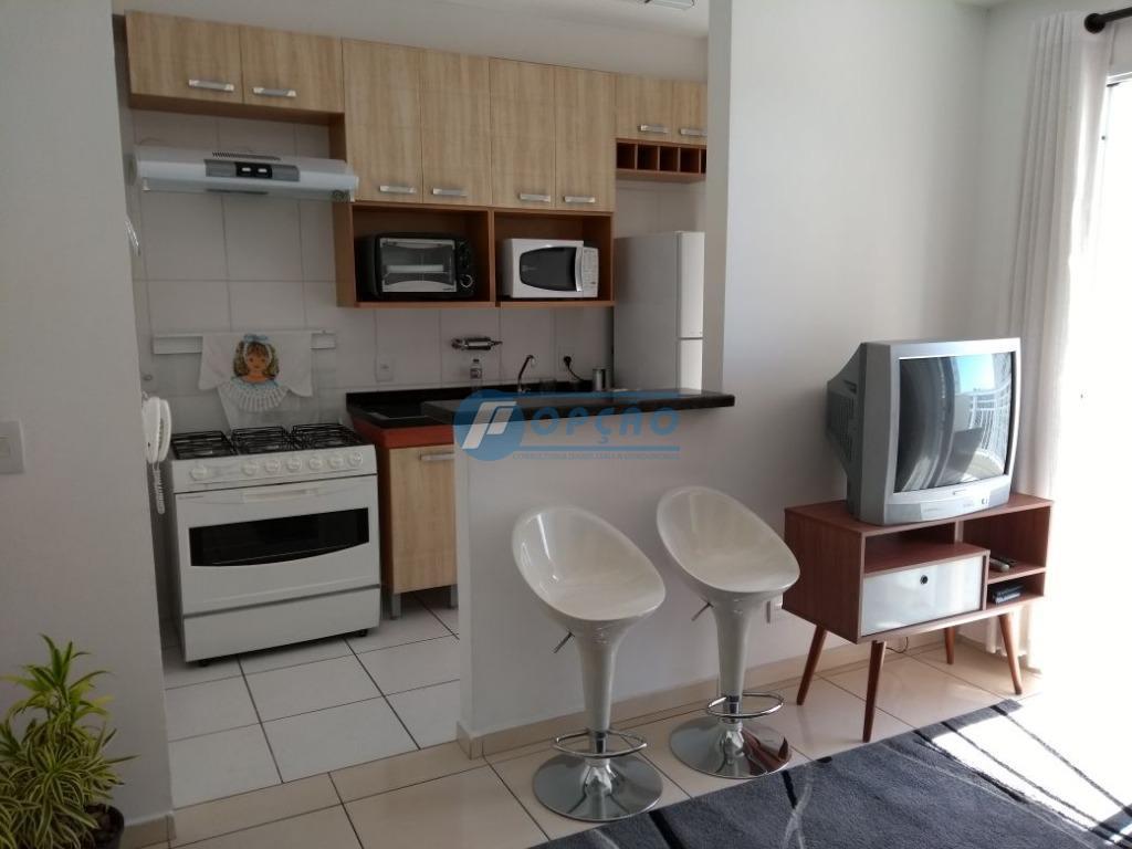 Apartamento residencial para locação, Marapé, Santos.