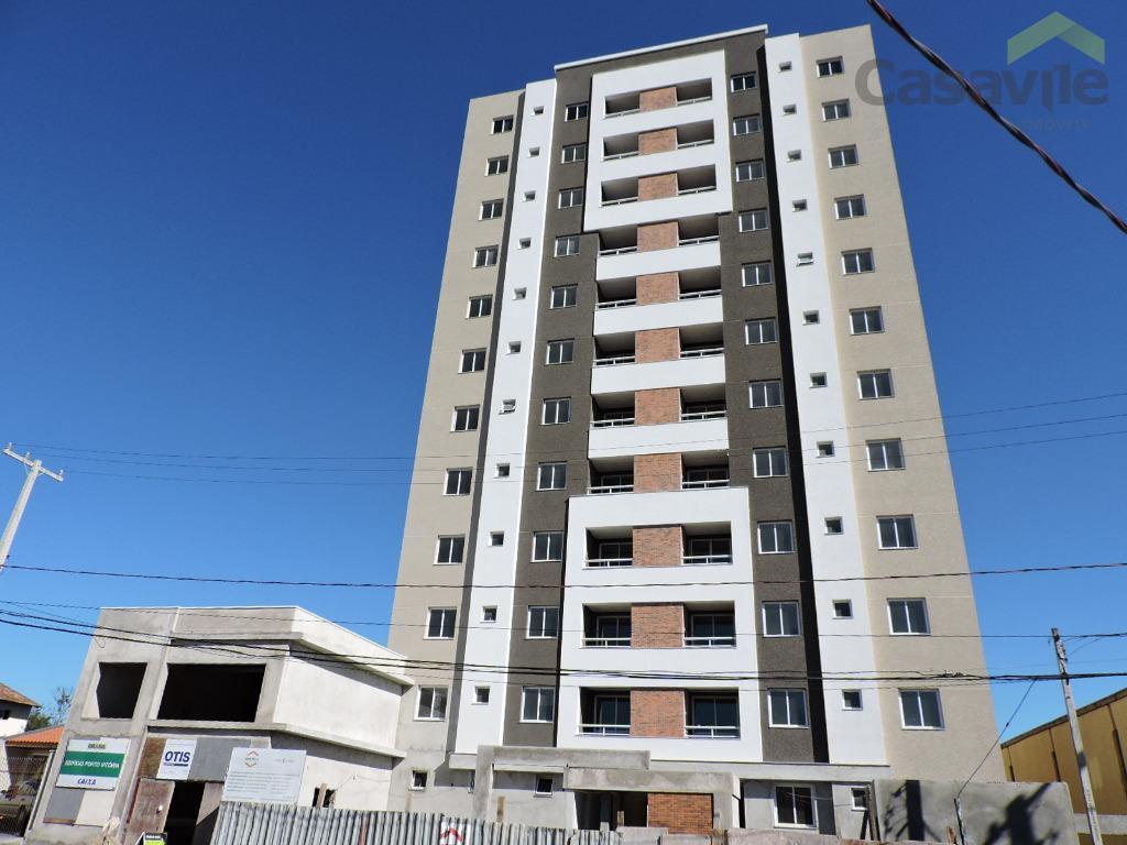 Apartamento residencial à venda, Centro, São José dos Pinhais - AP0126.