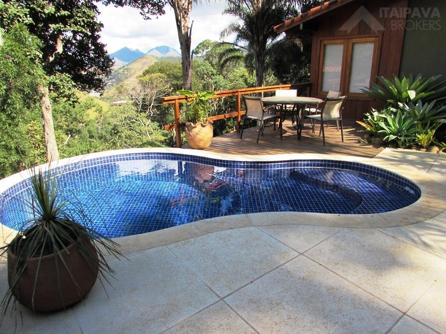 Magnífica residência em Itaipava