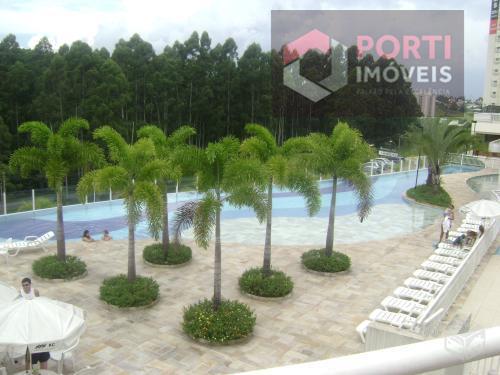 Apartamento residencial à venda, Tamboré, Santana de Parnaíb