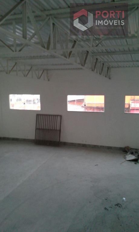 Galpão comercial para locação, Centro, Carapicuíba.