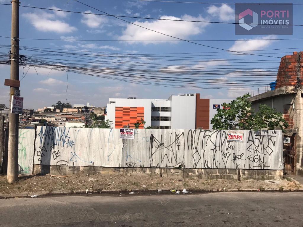 Terreno residencial à venda, Jardim Planalto, Carapicuíba -