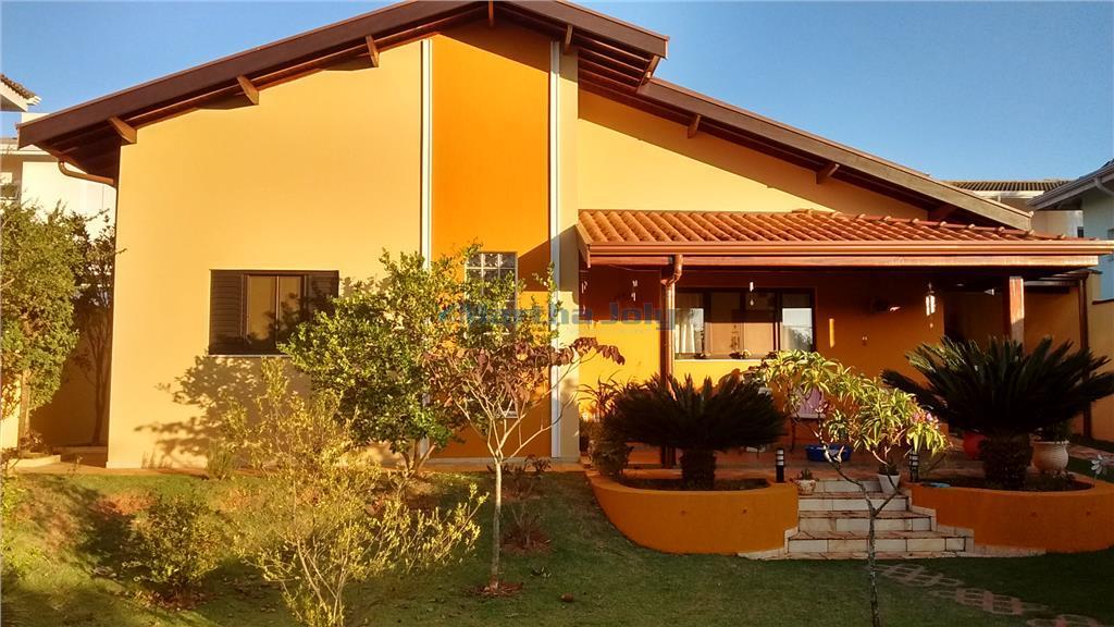 Casa residencial à venda, Caminhos de San Conrado, Campinas.