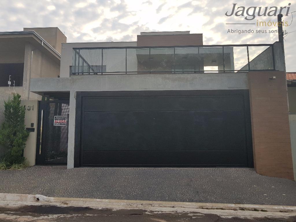Sobrado residencial para locação, Jardim Márcia II, Agudos - SO0001.