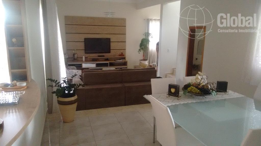 Sobrado  residencial à venda, Condomínio Imigrantes, Nova Odessa.