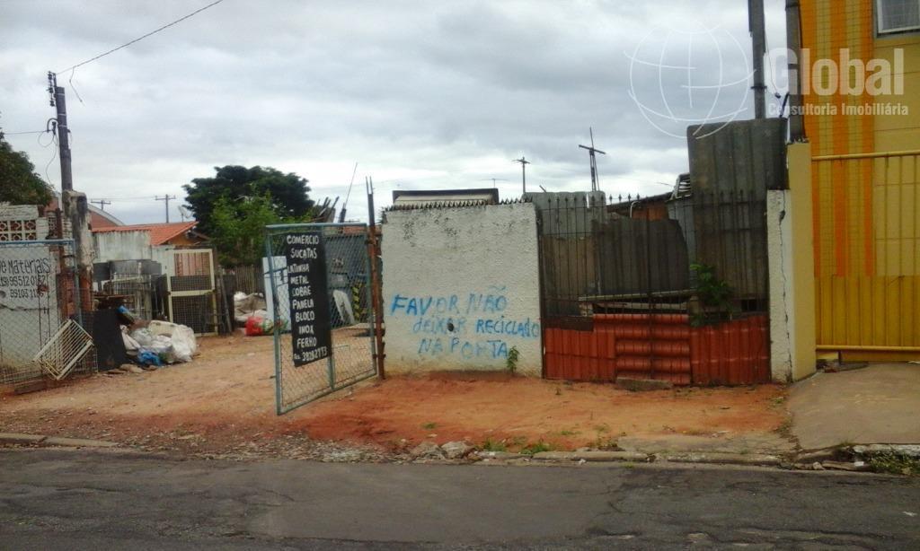 Terreno residencial à venda, Vila Valle, Sumaré.