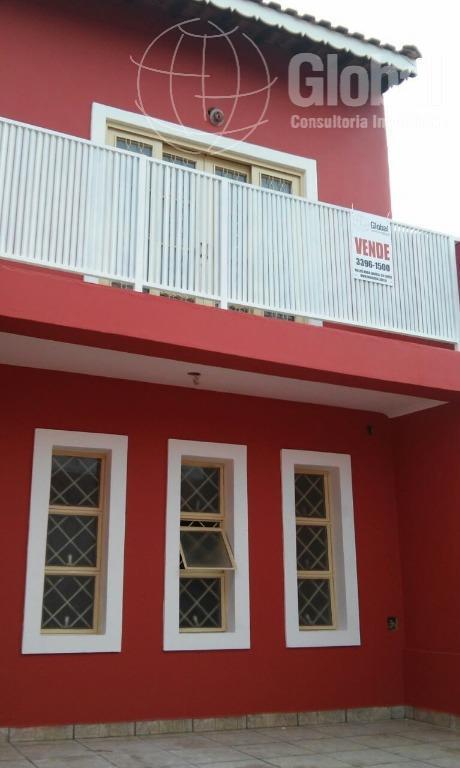 Sobrado residencial à venda, Jardim Santa Emília, Hortolândia.