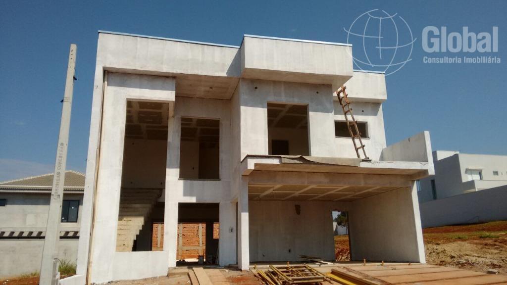 Sobrado residencial à venda, Residencial Portal do Lago, Sumaré.