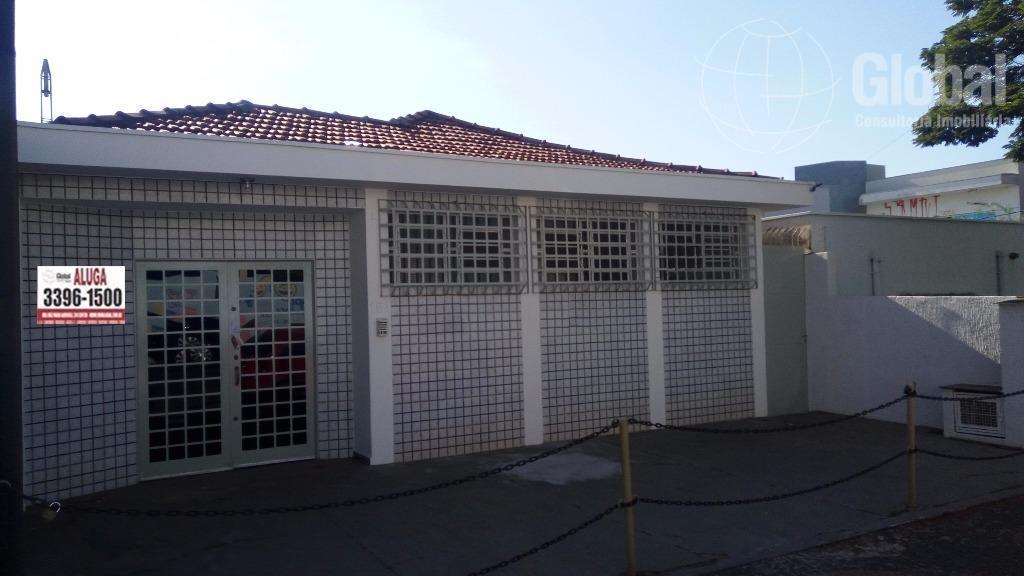 Casa comercial para locação, Centro, Sumaré.