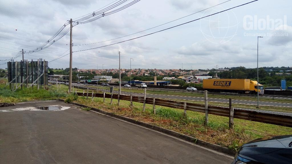 excelente área industrial na rodovia anhanguera (pista sul), no município de sumaré sp, acesso pela marginal,...