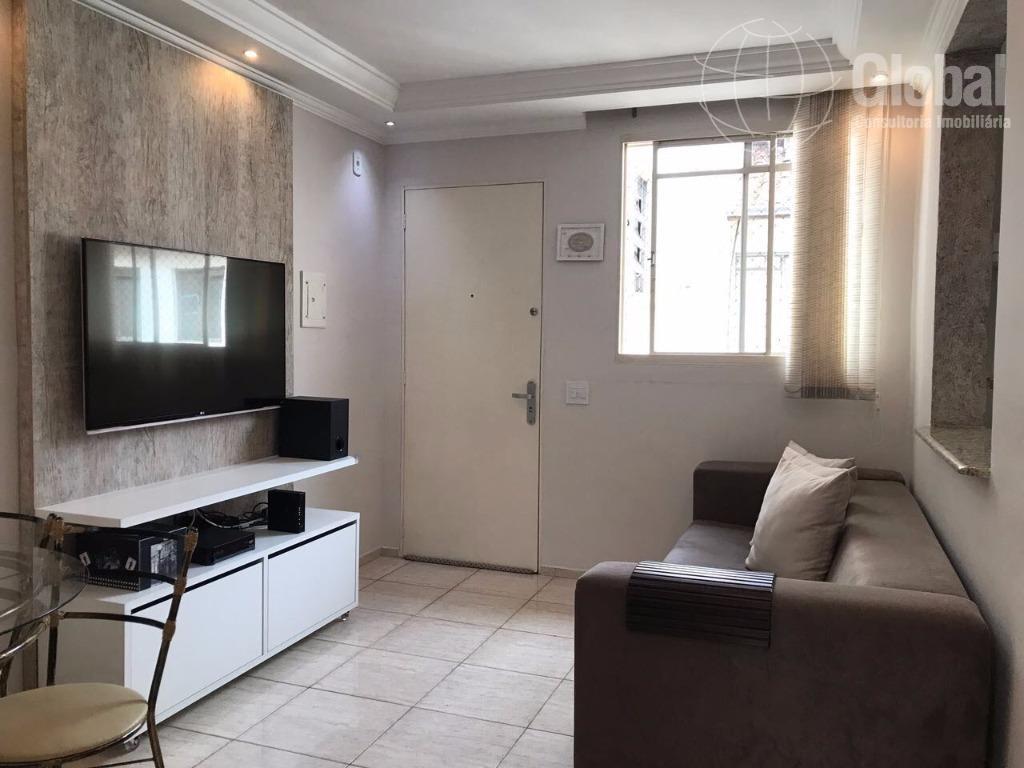 Apartamento residencial à venda, Jardim João Paulo II, Sumaré.