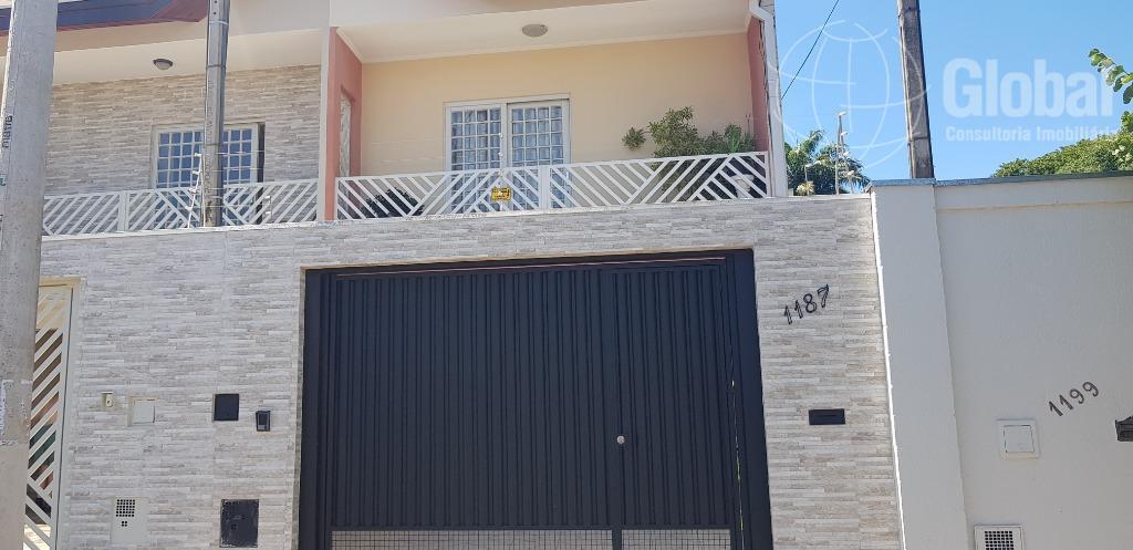 Sobrado com 3 dormitórios à venda, 109 m² por R$ 350.000 - Parque Franceschini - Sumaré/SP