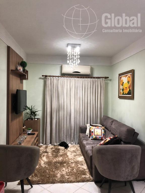 Apartamento com 3 dormitórios à venda, 78 m² por R$ 390.000 - Centro - Nova Odessa/SP