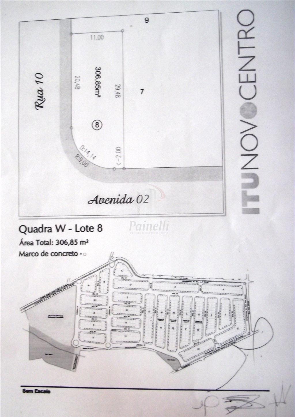 Terreno Residencial à venda, São Luiz, Itu - TE0044.