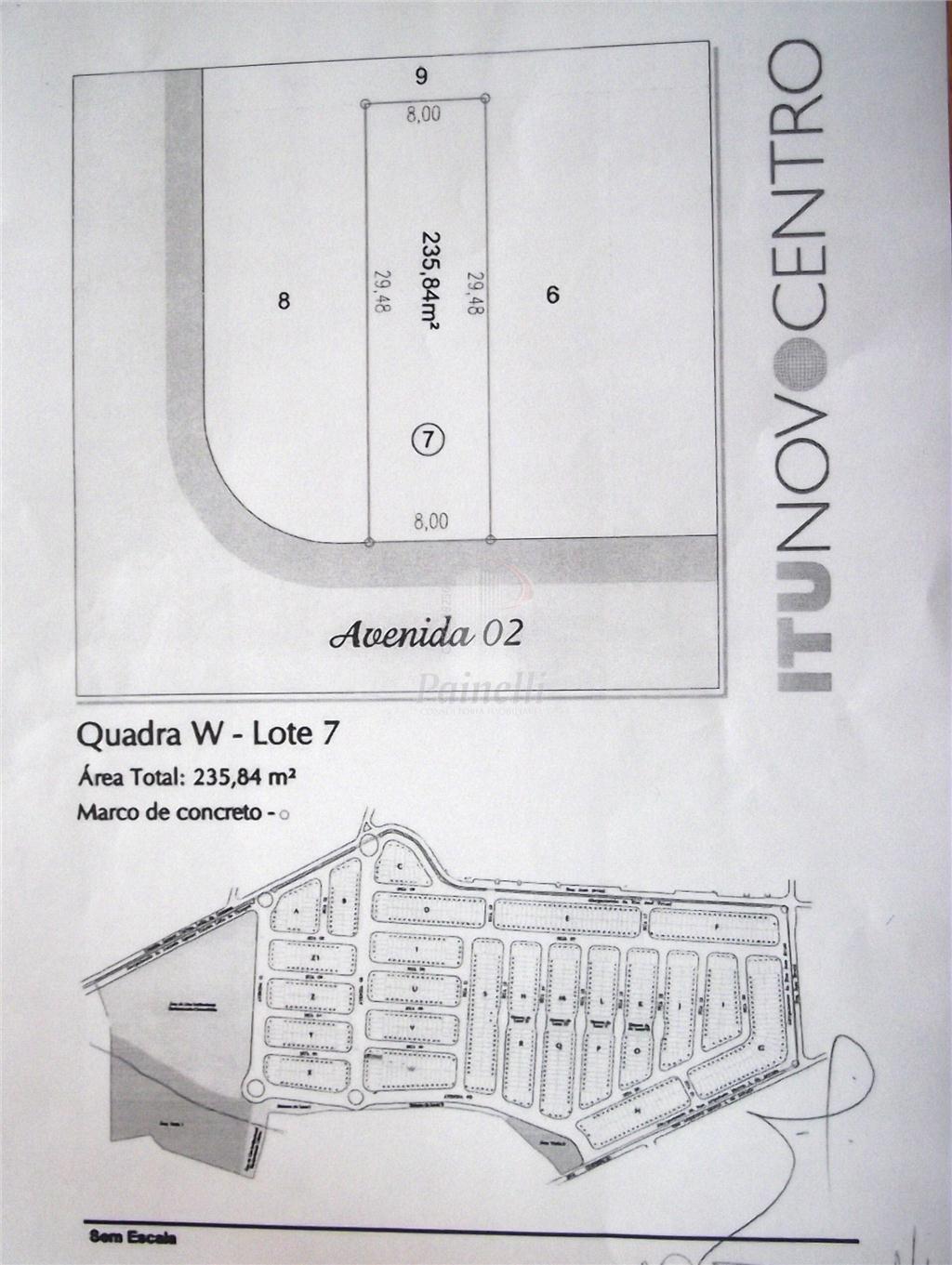 Terreno Residencial à venda, São Luiz, Itu - TE0045.