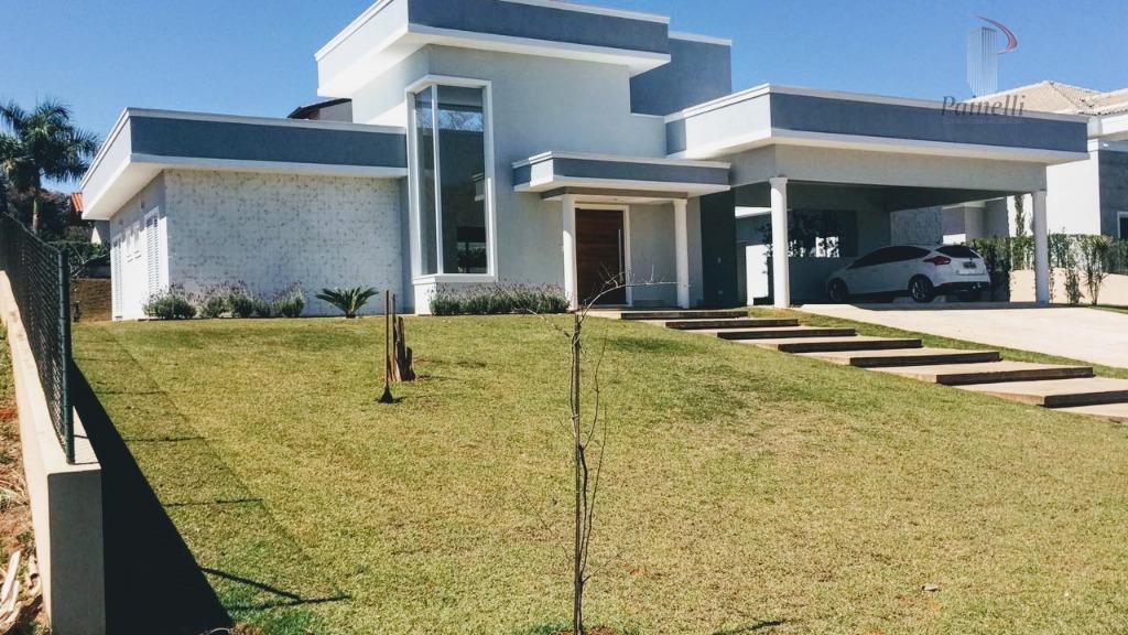 Casa residencial para venda e locação, Terras de Mont Serrat, Salto - CA1322.