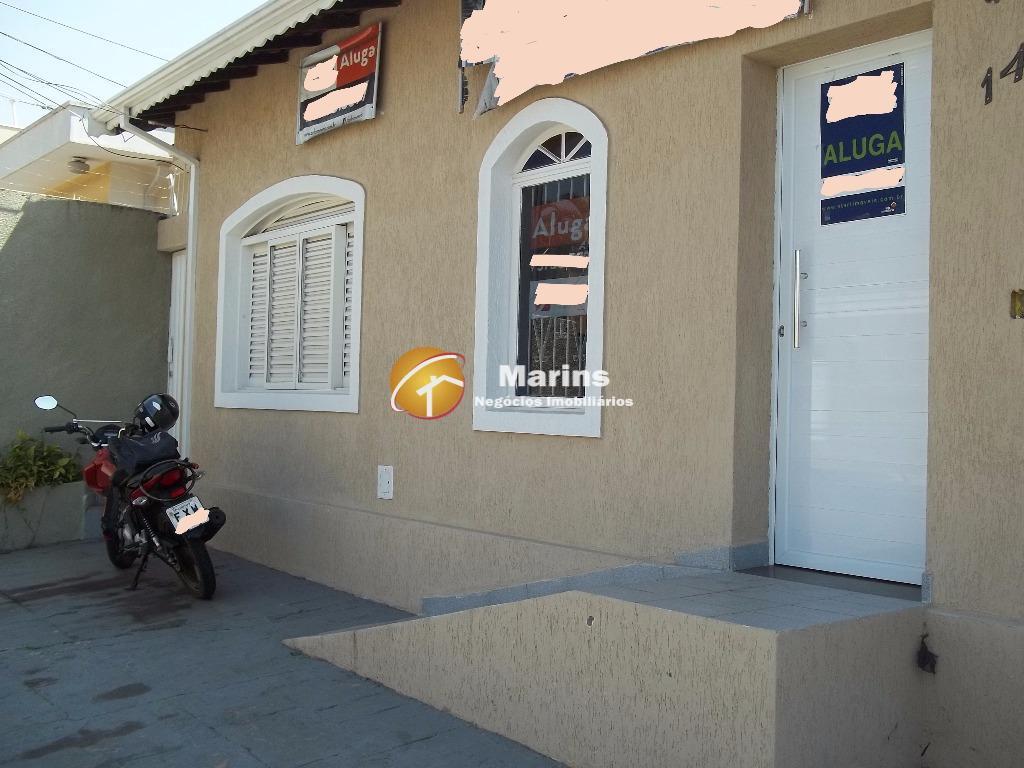 Casa comercial para locação, Jardim Quarto Centenário, Campinas.
