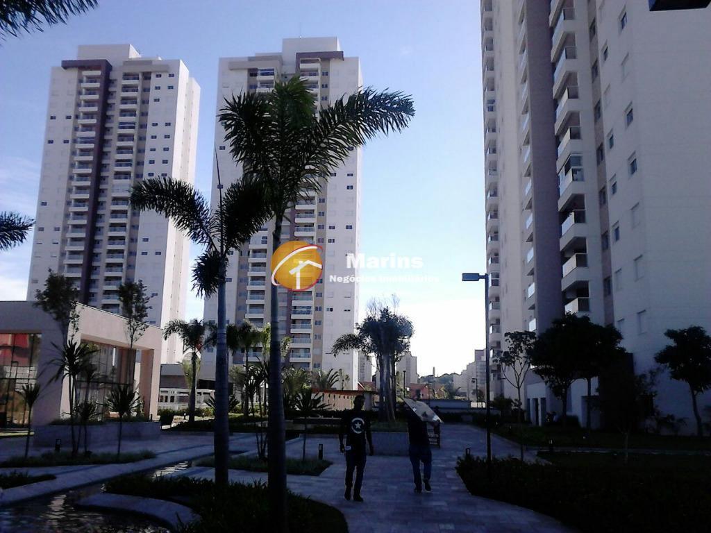 Apartamento residencial para venda e locação, Parque Rural Fazenda Santa Cândida, Campinas.