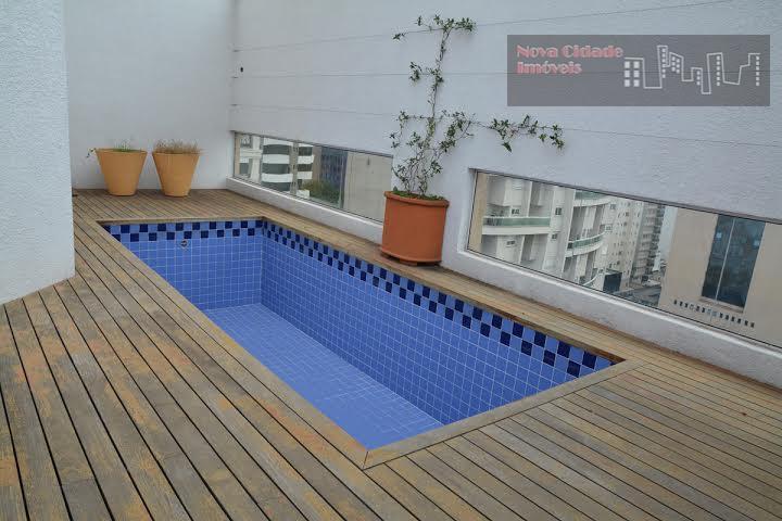 cobertura nova !!! alto padrão, lazsr com playground, salão de festas, sauna, sala de ginástica, piscina...