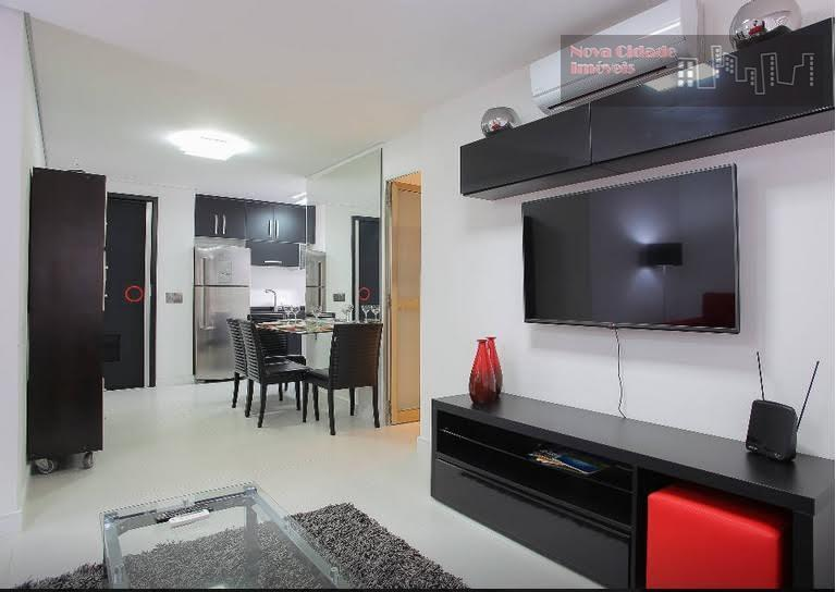 Apartamento residencial para venda e locação, Brooklin, São Paulo.