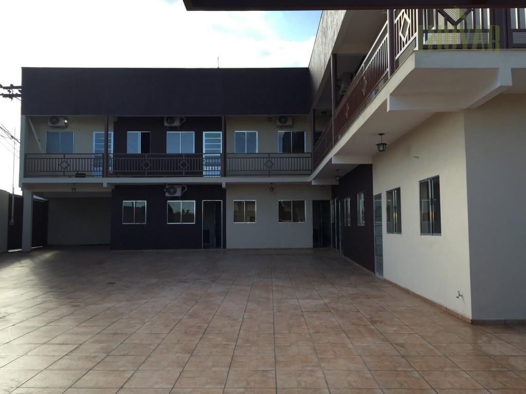 Flat residencial para locação, Jardim Santa Esmeralda, Hortolândia - KN0002.