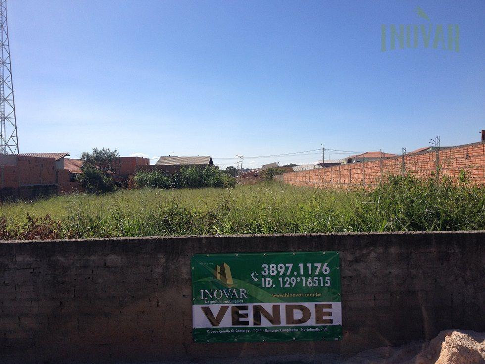 Terreno  comercial à venda, Loteamento Adventista Campineiro, Hortolândia.