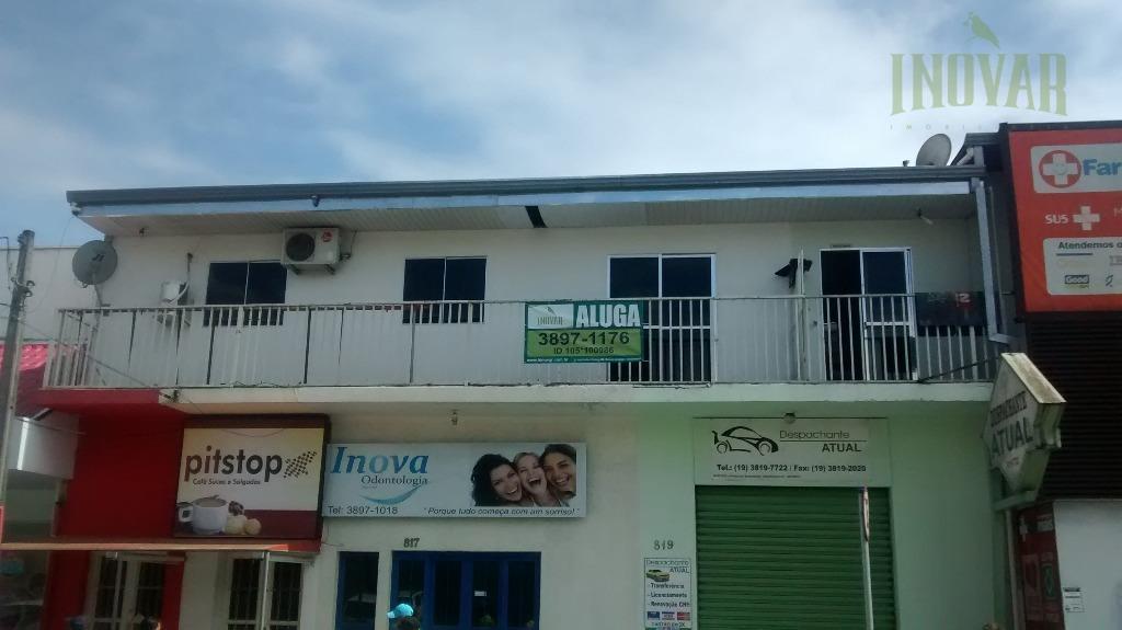Sala  comercial para locação, Loteamento Remanso Campineiro, Hortolândia.