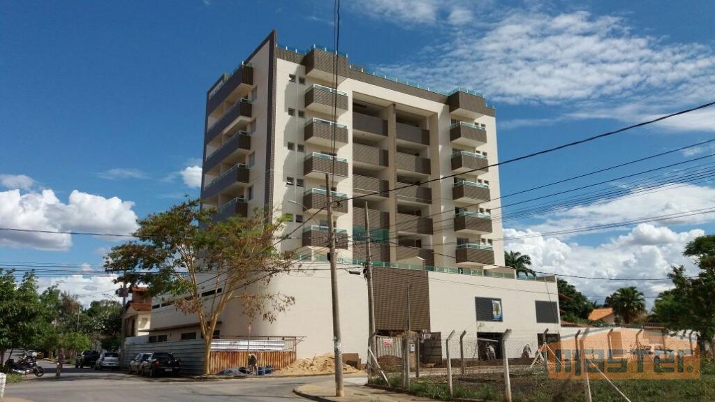 Flat residencial à venda, Jardim São Luiz, Montes Claros.