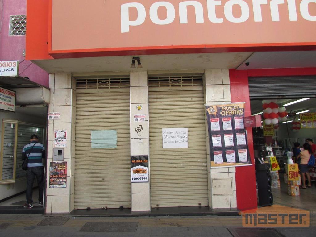 Loja comercial para locação, Centro, Montes Claros.