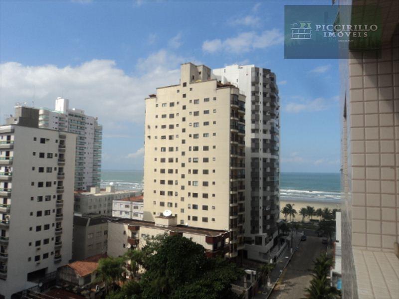 Apartamento 2 dormitórios, Praia Grande, Aviação, Vista Mar