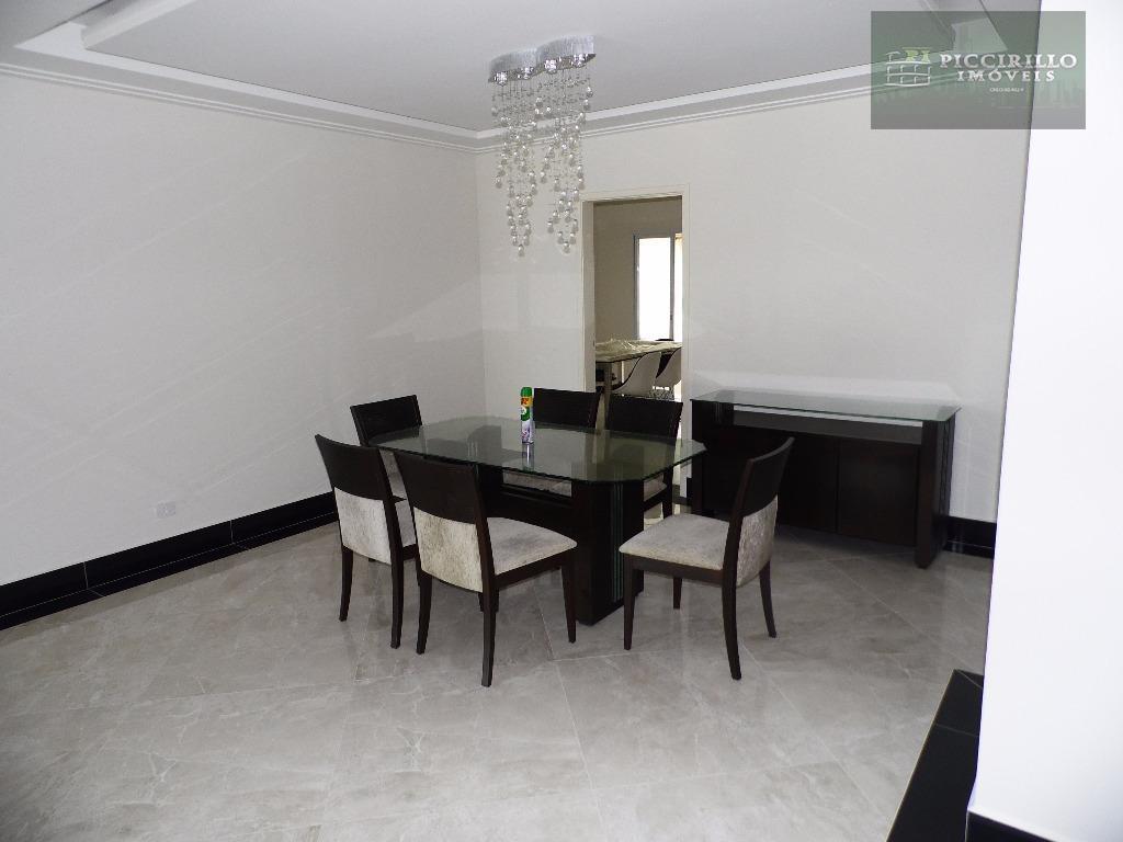 Apartamento de 4 dormitórios e 3 suítes á venda, Aviação, Praia Grande, Vista Mar