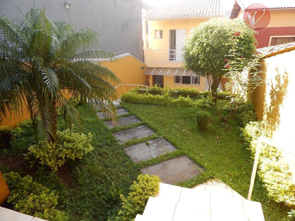 Sobrado residencial à venda, Campestre, Santo André - CA2731.