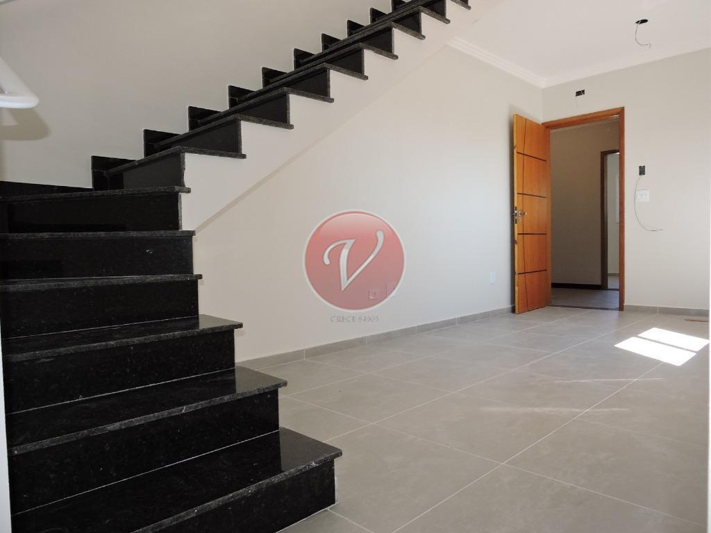 Cobertura residencial à venda, Vila Humaitá, Santo André - CO0438.