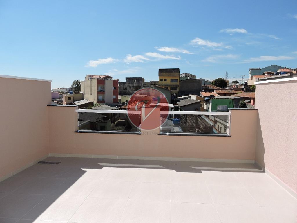 Cobertura sem condomínio à venda, Vila Humaitá, Santo André.