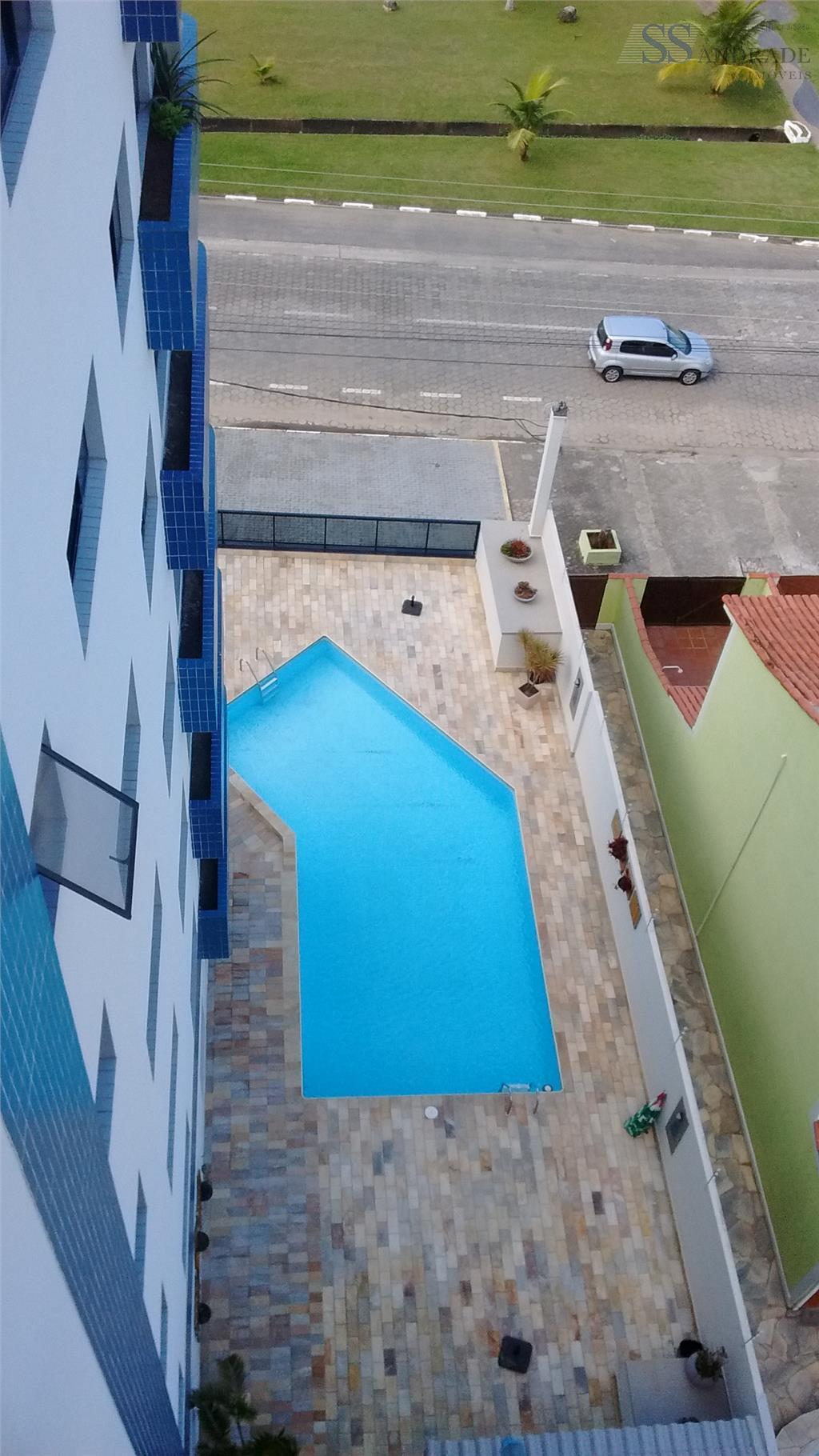 cobertura com 150m² de área construída e 185m² de área total, possui 02 dorm (01 suíte),...