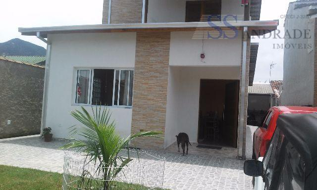 Sobrado novo, aceita financiamento bancário. Praia Massaguaçu